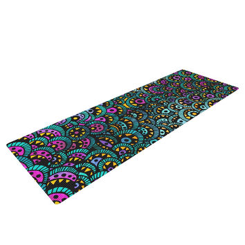 "Pom Graphic Design ""Peacock Tail"" Yoga Mat"