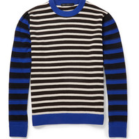 Marc by Marc Jacobs - Striped Wool Crew Neck Sweater | MR PORTER