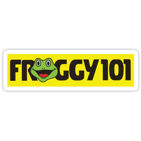 'Froggy 101 The Office' Sticker by Chris Jackson