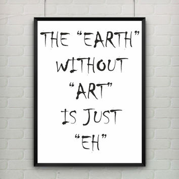 Canvas Art Epigram by Banksy Print Quote Art Quotes Kanvas Tablolar Poster Modern Abstract Oil Painting Wall Picture NO Frame