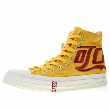 "KITH x Coca-Cola x Converse Chuck Taylor All Star 1970S ""Yellow&Red"" Sneaker 160288C"