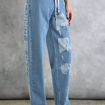Cannot Be Described Jeans
