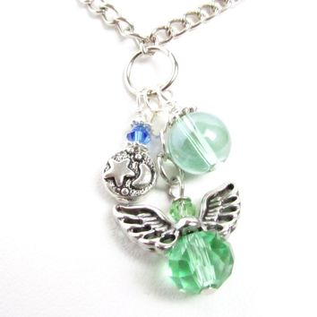Angel Car Charm for Rearview Mirror