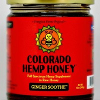 Colorado Hemp Honey Ginger 6oz w/500mg CBD