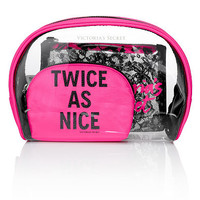 Lace Cosmetic Bag Trio - Victoria's Secret - Victoria's Secret