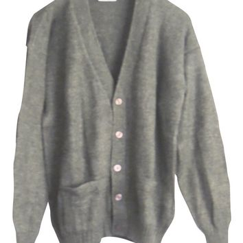 CELITAS DESIGN Men's Cardigan Alpaca Vneck Buttons and Pockets