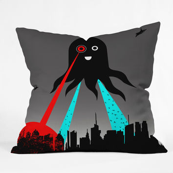 Brandon Dover Yay Throw Pillow