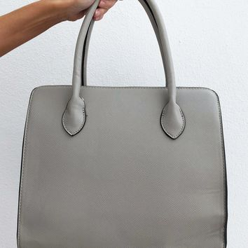 Just Everyday Purse: Grey
