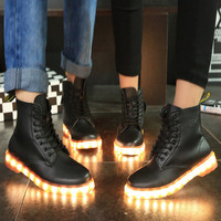 Hot Sale Hot Deal On Sale Lightning Shoes High-top Boots [4964954820]