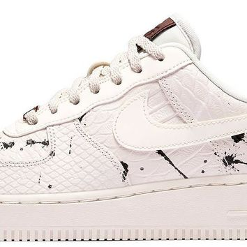 BC QIYIF Nike Air Force 1 LX Phantom Snakeskin