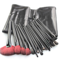 High Quality 32-pcs Black Wool Makeup Brush Sets [9647070863]
