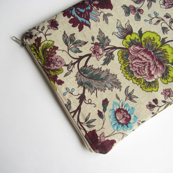 Floral MacBook Air 13 sleeve, MacBook Air 13 Case, MacBook Pro 13 case, MacBook Air 13 Cover, MacBook Pro 13