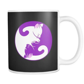 Yin Yang Cats - 11oz Coffee Mug
