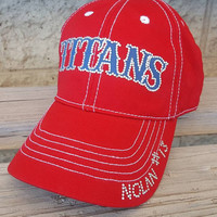 Custom baseball mom hat Titans team hat either logo or name in your teams colors