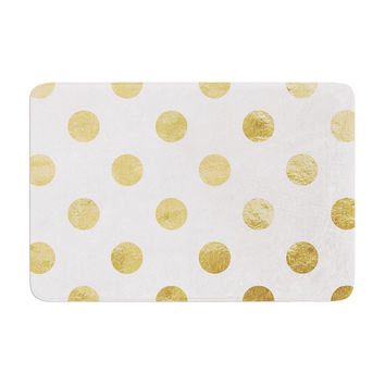 "KESS Original ""Scattered Gold"" Memory Foam Bath Mat"