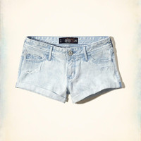 Girls Low Rise Denim Short-Shorts | Girls Clearance | HollisterCo.com