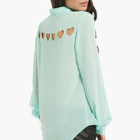 Hearts About Blouse $48