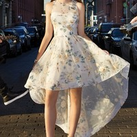 Embroidered High Low Dress from Camille La Vie and Group USA