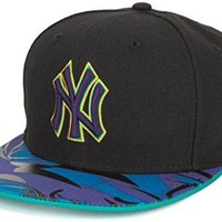 New Era New York Yankees Air Jordan 8 Aqua Hook Vizor Snapback, OS