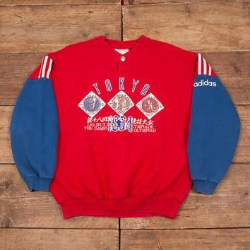 Mens Vintage Adidas Olympic Sentential Collection 1964 Sweatshirt M 40¡± R5326