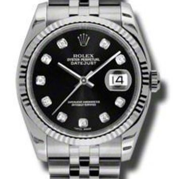 Rolex - Datejust 36mm - Steel Fluted Bezel