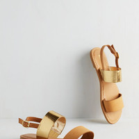 Energetic Entourage Sandal in Tan