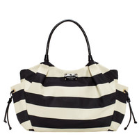 kate spade new york cambridge stripe nylon stevie baby bag