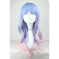 Multi-coloured wig Ceres by Coscraft