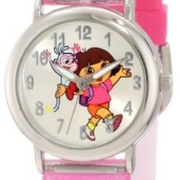 Nickelodeon Dora the Explorer Kid's DTE1080B Watch and Backpack Set