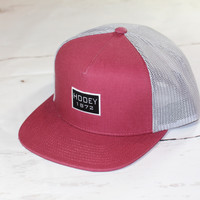 """HOOey """"Roots"""" OSFA (snapback) 1714T-RDGY NEW FOR 2017"""