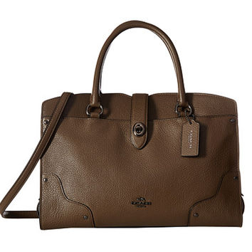 COACH Mercer 30 Satchel Dk/Fatigue - Zappos.com Free Shipping BOTH Ways