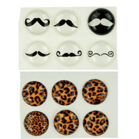 RL 12Pcs Home Button Sticker For iPhone 5 4 4S 3G 3GS iPod Touch/ iPad 1 2 3 #6