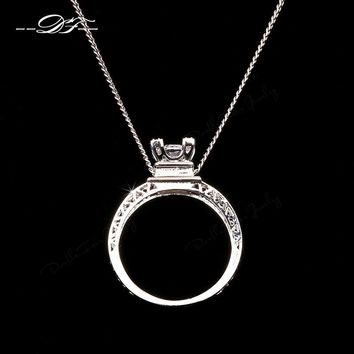 CZ Diamond Necklaces