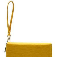 Colorful Textured Wristlet Wallet