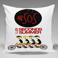 5 Seconds of Summer - Square and Regtagular Pillow Case One Side/Two Side.