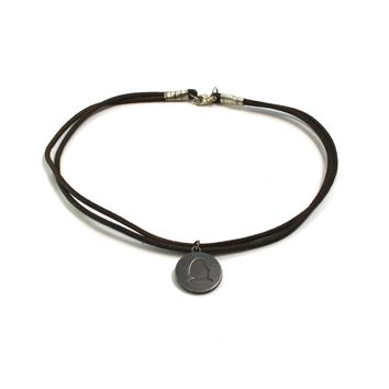 CHOKER WITH CHARM NECKLACE