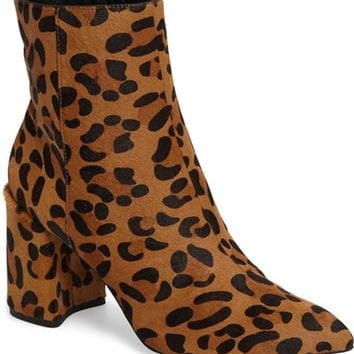 Topshop Heart Genuine Calf Hair Boot (Women) | Nordstrom