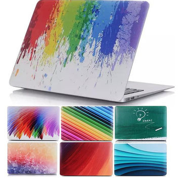 Colorful Ramp Case for apple Macbook Air Pro 11 12 13 15 Retina Matte Hard Laptop Protective 11.6 13.3 15.4 Cover Shell