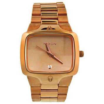 Nixon The Player Rose Gold-tone Mens Watch A140897