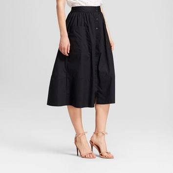 Women's Button-Down Birdcage Skirt - Who What Wear™