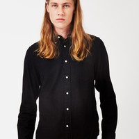 Gant Rugger Windblown Flannel Shirt Black