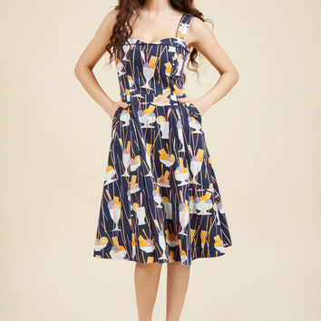 Darling on the Double Midi Dress
