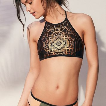 Without Walls Arabesque Hanna Reversible Bikini Top