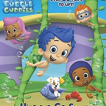 Hide-and-Go-Swim! Nifty Lift-and-Look Bubble Guppies LTF BRDBK