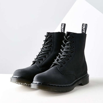 Dr. Martens Pascal Shearling 8-Eye Boot - Urban Outfitters