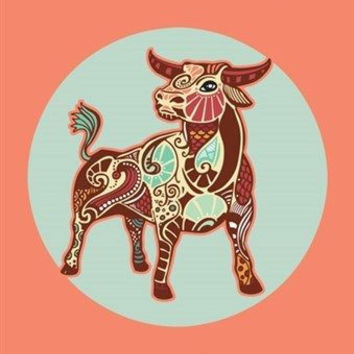 TAURUS astrology art poster 24X36 SYMBOLIC ZODIAC the bull CLASSIC UNIQUE