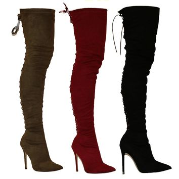 Hot jina over the knee boots
