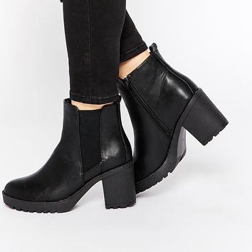 Oasis Heeled Ankle Boots