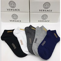 VERSACE Embroidered Socks with Box