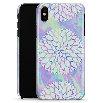 Iridescent Dahlia v6 - iPhone X Clipit Case